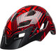 Bell Sidetrack Youth Helmet red/black seeker